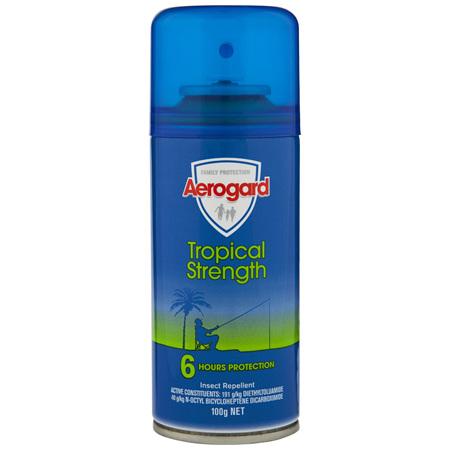 Aerogard Tropical Strength Insect Repellent Aerosol Spray 100g