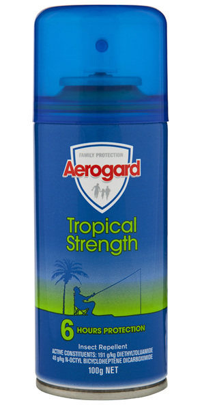 Aerogard Tropical Strength Insect Repellent Aerosol Spray 100g
