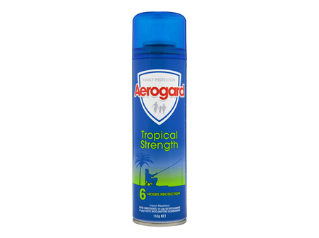 Aerogard Tropical Strength Insect Repellent Aerosol Spray 150g