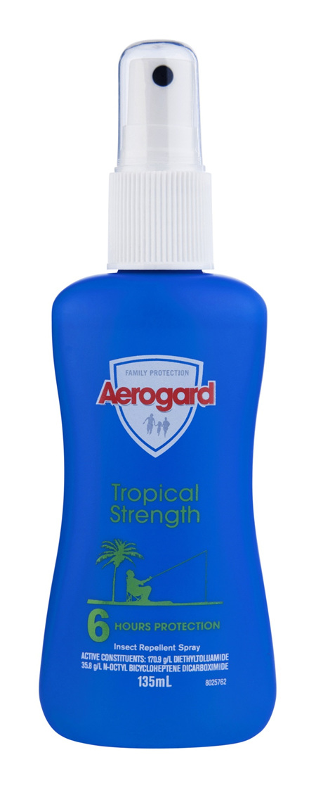 Aerogard Tropical Strength Insect Repellent Pump 135ml