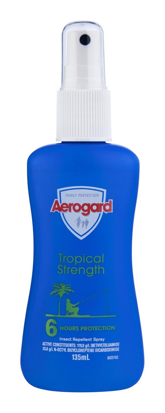 Aerogard Tropical Strength Insect Repellent Pump 135ml