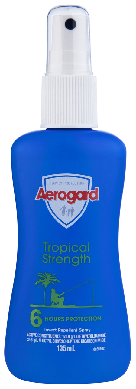 Aerogard Tropical Strength Insect Repellent Pump Spray 135ml