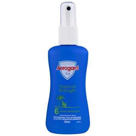 Aerogard Tropical Strength Insect Repellent Pump Spray 135ml