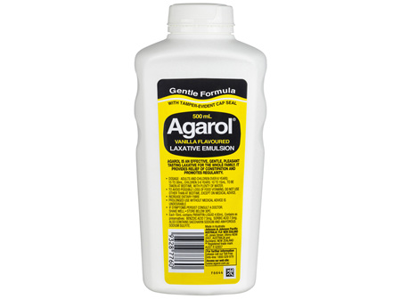 Agarol Vanilla Flavoured Laxative Emulsion