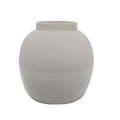 Aiko Ceramic Vase - Taupe 25cm