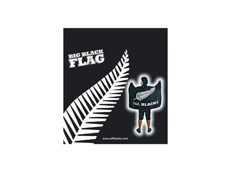 All Blacks Cape/ Banner Flag