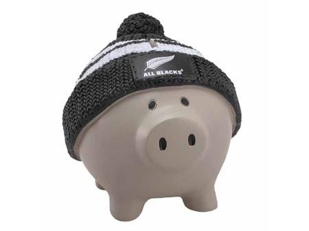 All Blacks Piggy Bank