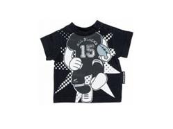 All Blacks Rugby Player Print T-shirt