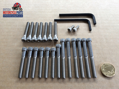 Allen Screw Set - BSA - 1968on