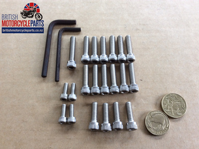 Allen Screw Set - Norton Commando 750 850 - Not MK3