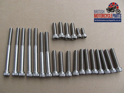 Triumph 350 500 Allen Screw Set 1961-67