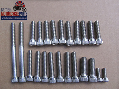 Allen Screw Set - Triumph 650cc - 1963-68