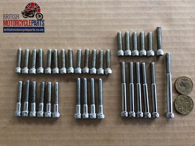 Allen Screw Set - Triumph Pre-Unit