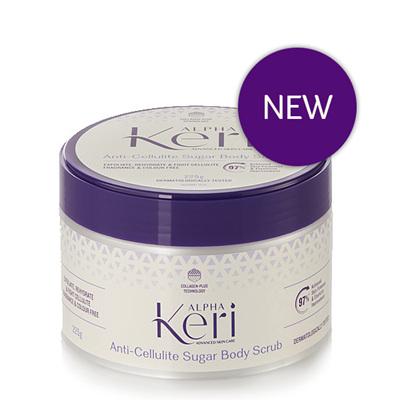 Alpha Keri Anti-Cellulite Sugar Body Scrub 225ml