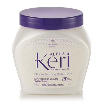Alpha Keri Intensive Recovery Body Cream 500ml