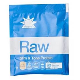 Amazonia Raw Slim & Tone Protein Vanilla & Cinnamon Single