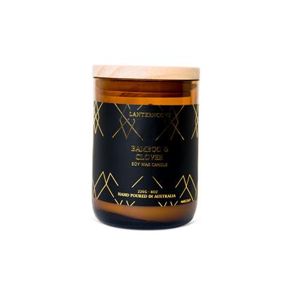 Amberesque - Bamboo & Jasmine Candle