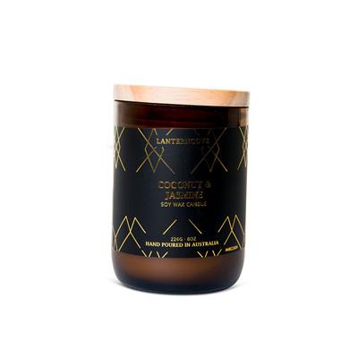Amberesque - Coconut & Jasmine Candle