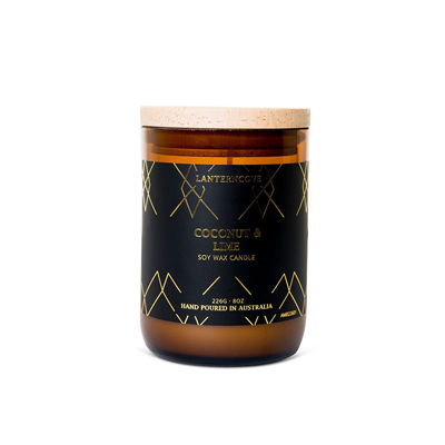 Amberesque - Coconut & Lime Candle