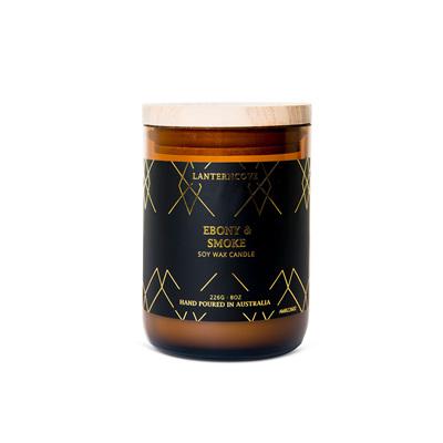 Amberesque - Ebony & Smoke Candle