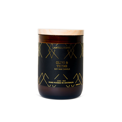 Amberesque - Olive & Thyme Candle