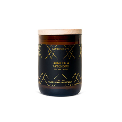 Amberesque - Tobacco & Patchouli Candle
