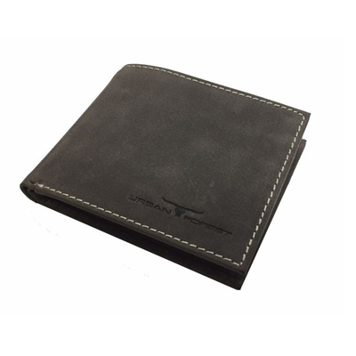 Amos Leather Wallet w/I.D Pocket - Taupe