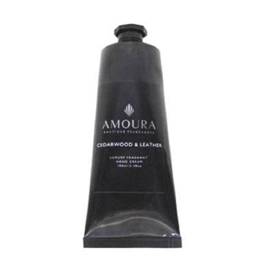 Amoura Ebony Hand Cream - Cedarwood & Leather