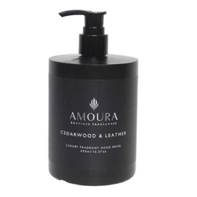 Amoura Ebony Handwash - Cedarwood & Leather