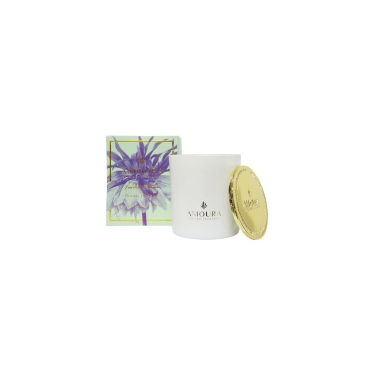 Amoura French Pear Luxury Candle - L