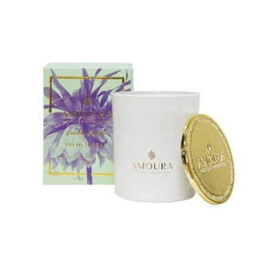 Amoura French Pear Luxury Candle - S