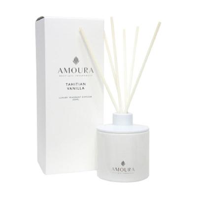 Amoura Ivory Luxury Candle Lrg - Tahitian Vanilla