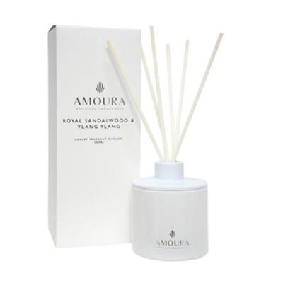 Amoura Luxury Diffuser - Royal Sandalwood & Ylang Ylang