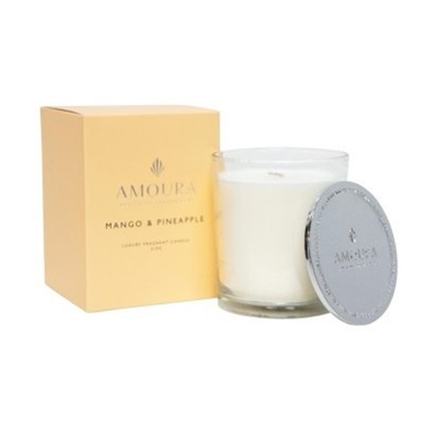 Amoura Mango & Pineapple Luxury Candle - L