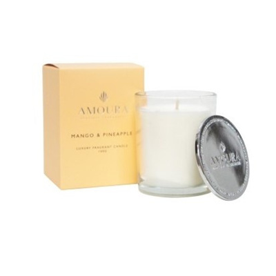 Amoura Mango & Pineapple Luxury Candle - S