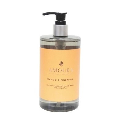 Amoura Mango & Pineapple Luxury Hand Wash - 490ml