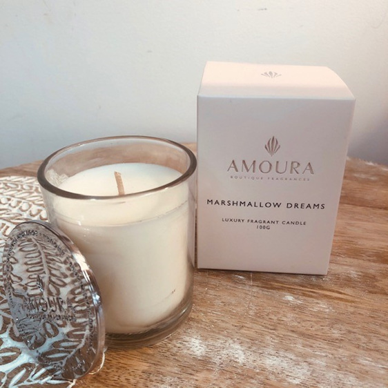 Amoura Marshmallow Dreams Candle - S