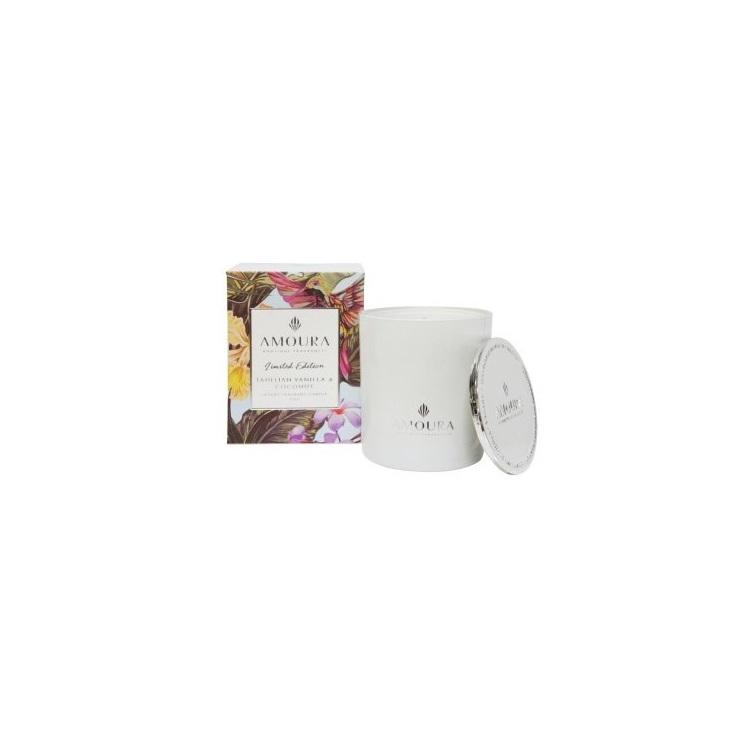 Amoura Tahitian Vanilla & Coconut Luxury Candle - L