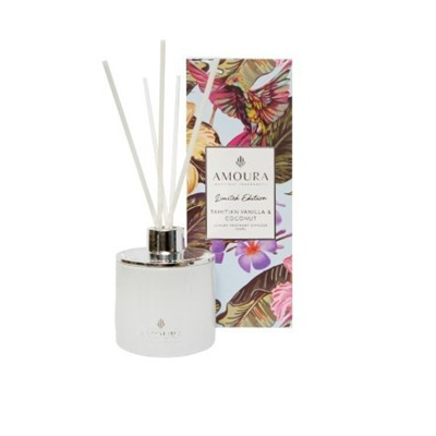 Amoura Tahitian Vanilla & Coconut Luxury Diffuser