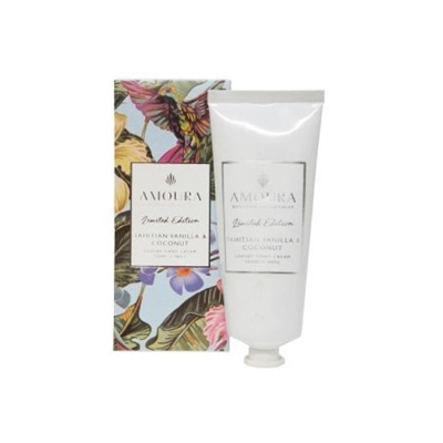 Amoura Tahitian Vanilla & Coconut Luxury Hand Cream
