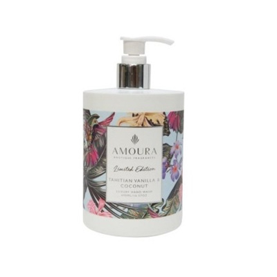 Amoura Tahitian Vanilla & Coconut Luxury Hand Wash - 490ml