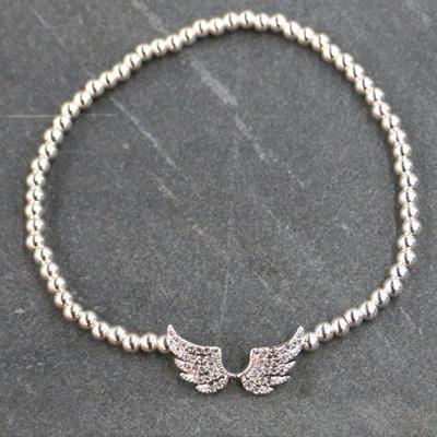 Angel Wing Bracelet - Silver