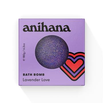 anihana Bath Bomb Lavendr Love 180g