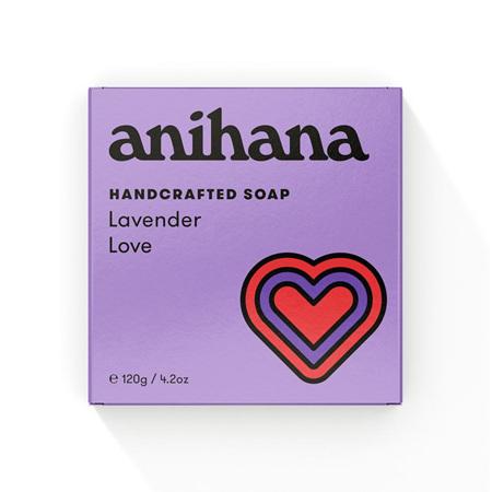 anihana Soap Lavendr Love Rect 120g