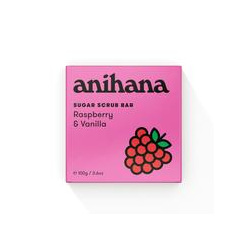 anihana Sugar Scrub Raspb &Van 100g