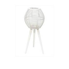Anna Bamboo Lantern - White 80cm