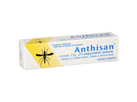 Anthisan Cream 2% mepyramine maleate 25g tube