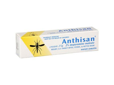 Anthisan Cream 2% mepyramine maleate 25g tube