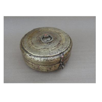 Antique Brass Chapati Box
