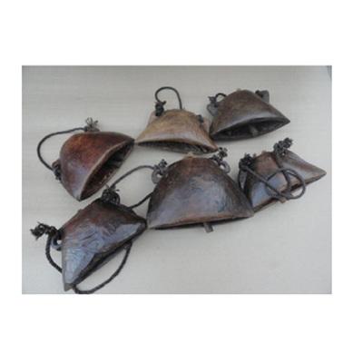 Antique Wooden Bell Polished - Large